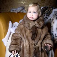 Меховая одежда для детей