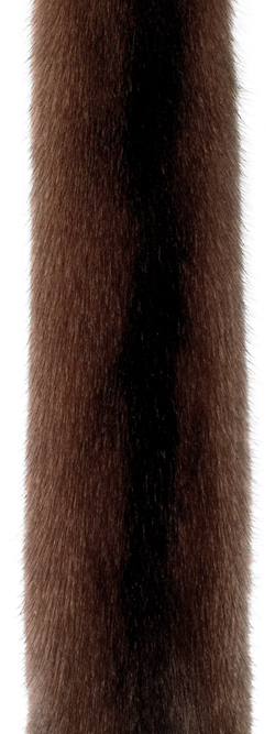 Норка орех (scanglow). Светлый оттенок коричневой норки.