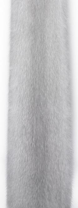 Норка виолет (violet). Самый светлый оттенок серой норки.