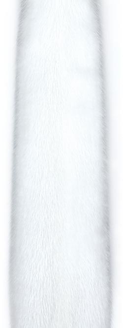 Белая норка (white).