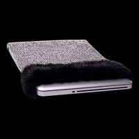 Создан соболино-бриллиантовый чехол для ноутбука
