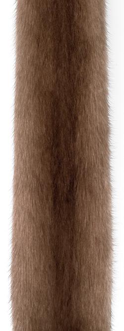 Норка пастель (pastel). Самый светлый оттенок коричневой норки.