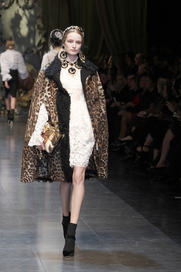 Меха от Dolce&Gabbana