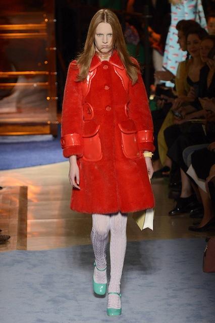 Норковое пальто от Miu Miu