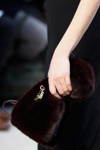Норковая сумка