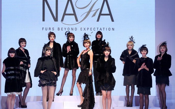 Показ меховой моды от NAFA