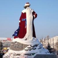 Самая большая шуба в России